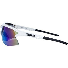 Bliz Tempo M12 Bril, white/smoke/blue multi